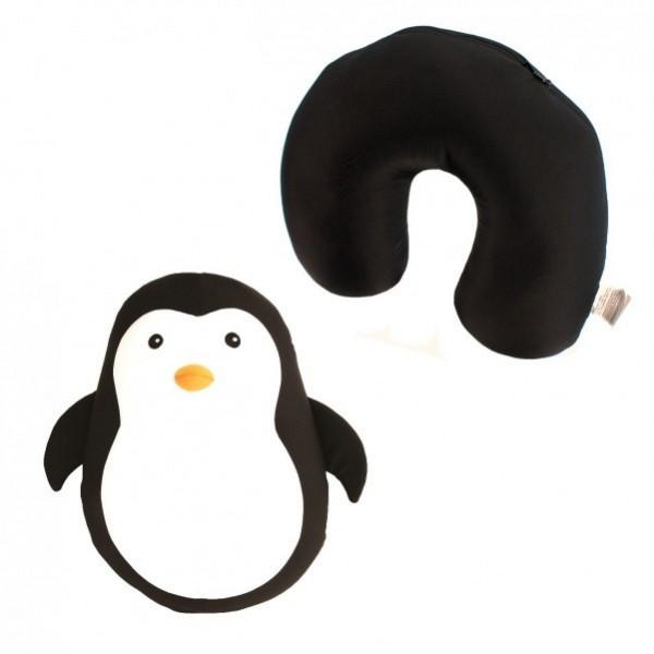 Kissen Pinguin - Kuscheltier Nackenhörnchen