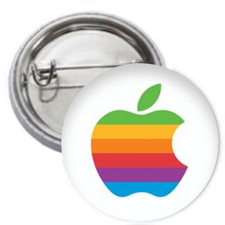 Ansteckbutton - Apple
