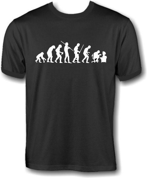 T-Shirt - human evolution