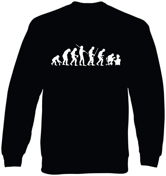 Sweat-Shirt - human evolution