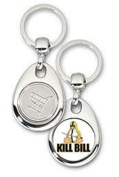 Schlüsselanhänger - Metall - KillBill - Einkaufswagen-Chip