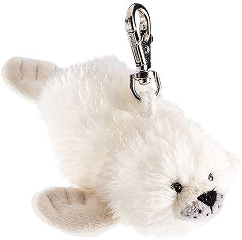 Schlüsselanhänger - Plüsch-Robbe
