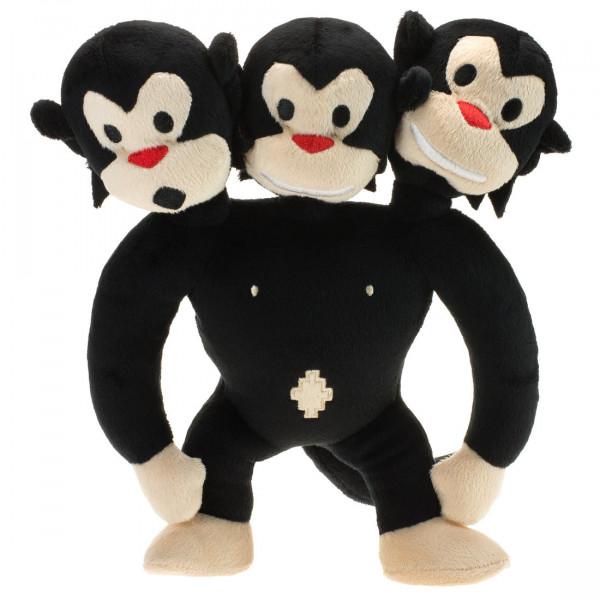 Dreiköpfiger Affe Plüsch