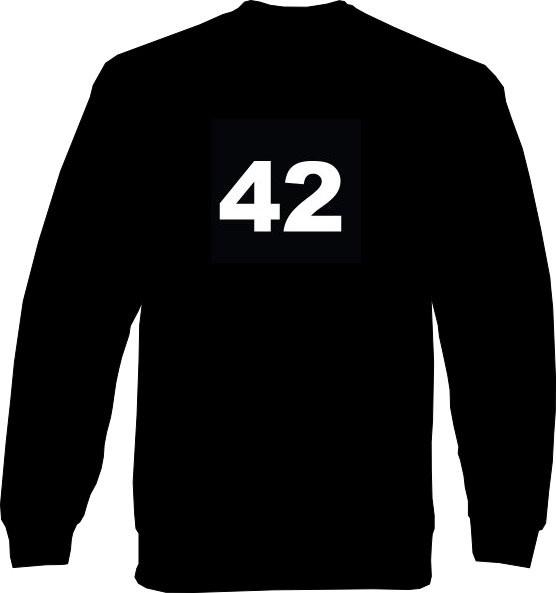 Sweat-Shirt - 42 - Die Antwort