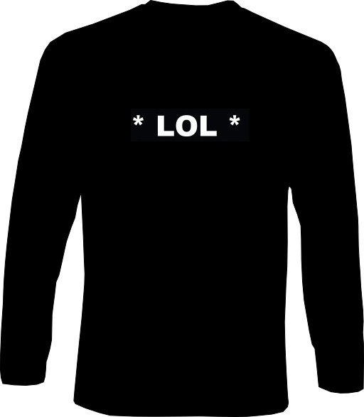 Langarm-Shirt - *LOL* - Laughing Out Loud