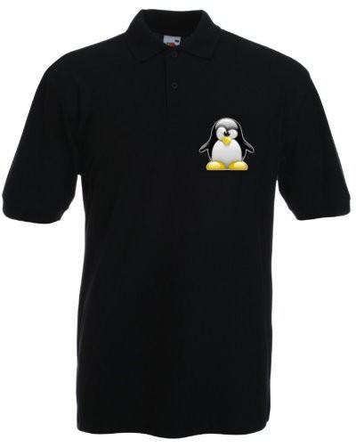 Polo-Shirt - 3D Tux