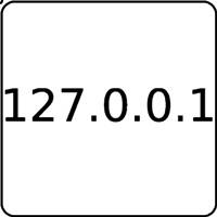 Notebook-Sticker - Localhost