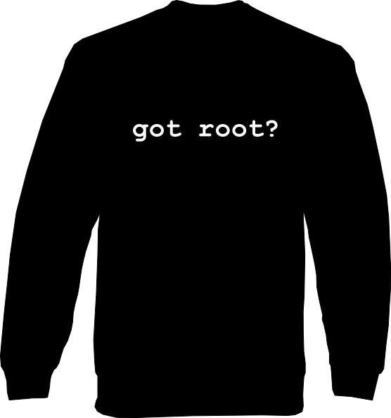 Sweat-Shirt - got root